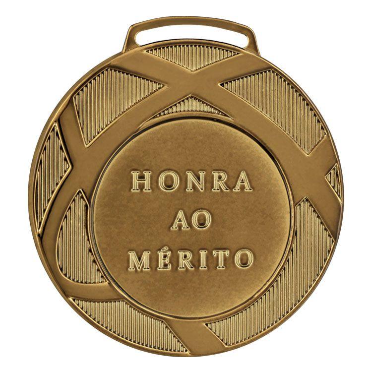 Medalha Ind. Vitória 80001 80mm com fita Gorgurão