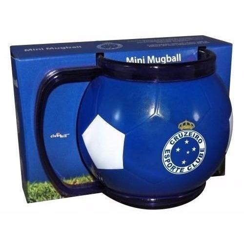 Mini Caneca Bola Mugbal Cruzeiro