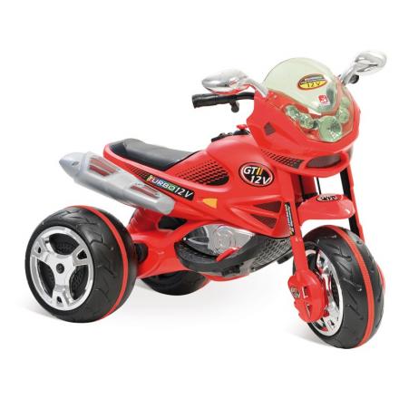 Moto Elétrica Infantil Super Moto GT2 Turbo Vermelha 12V - B