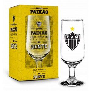Taça na Caixa 300ML Atlético - Paixão Que Não Se Explica Se Sente