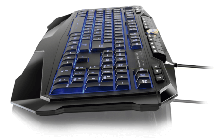 Teclado Gamer Multimídia USB LED Multilaser - TC167