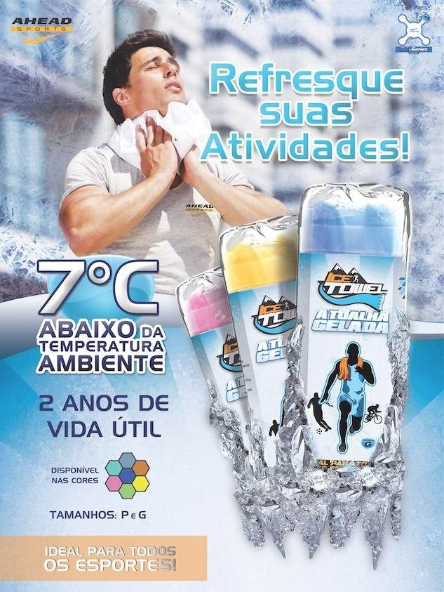 Toalha Esportiva Gelada IceTowel