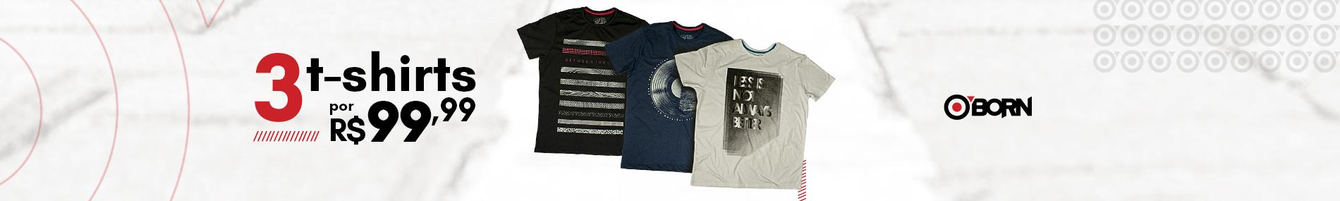 3 camisas por 99
