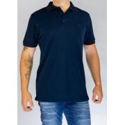 Camisa Polo Azul O