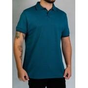 Camisa Polo Azul Petróleo O