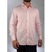 Camisa Social Rosa O