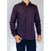 Camisa Social Violeta O