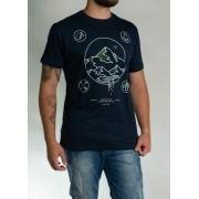 Camiseta Adventure Azul O