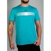 Camiseta Faixa Silk Azul O