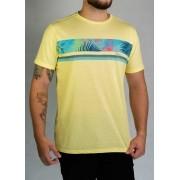 Camiseta Flores Amarela O