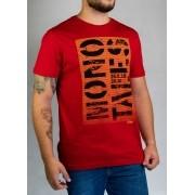 Camiseta Mono Tales Vermelha O