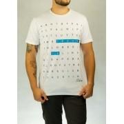 Camiseta Palavras Cruzadas Branca O