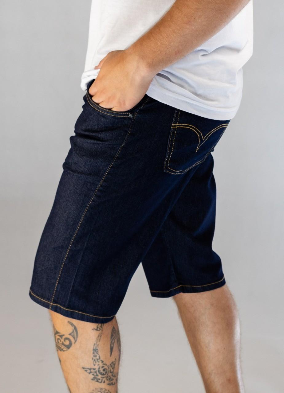 Bermuda Jeans Dark Blue