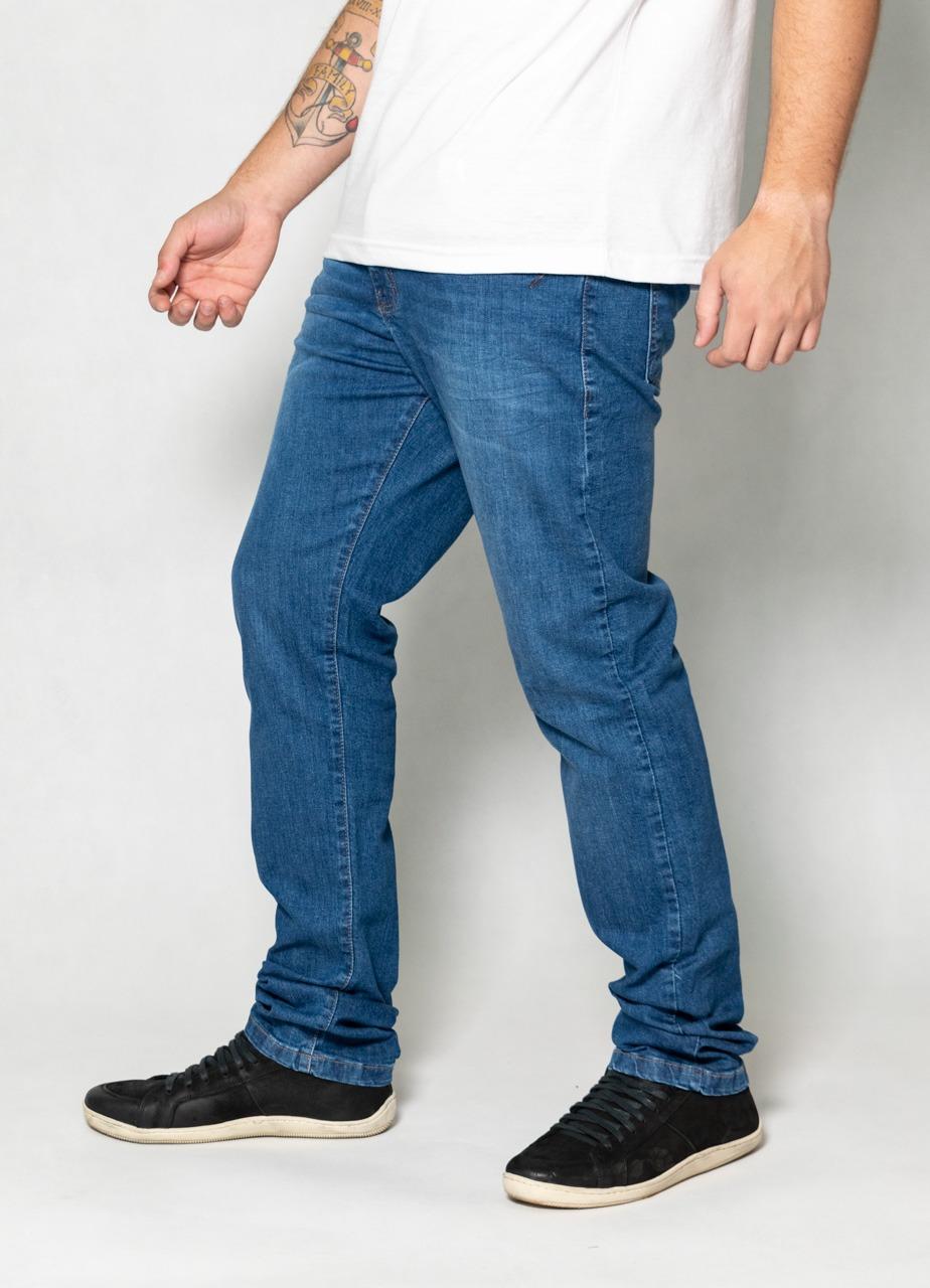 Calça Jeans Blue Slim O'Born