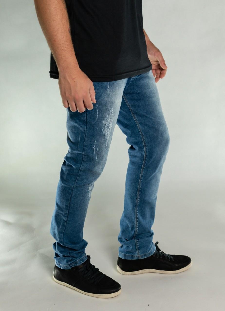 Calça Jeans Strecht Estonada O'Born