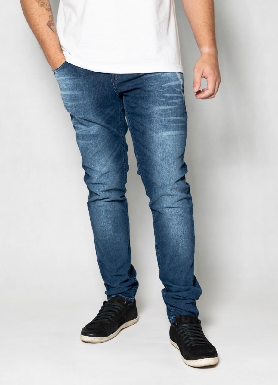 Calça Jeans Strecht Blue Bigode O'Born