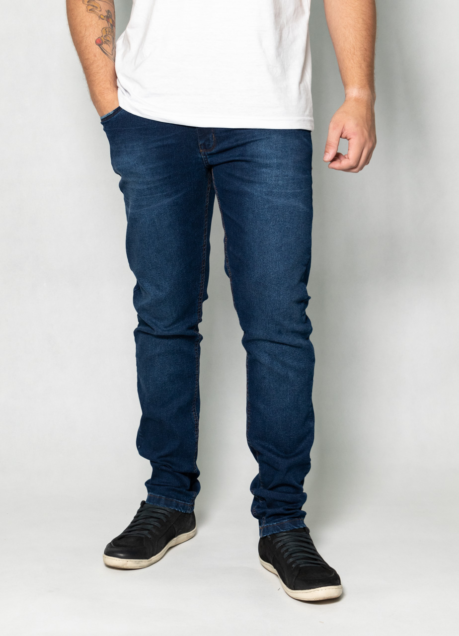 Calça Jeans Used Blue O'Born