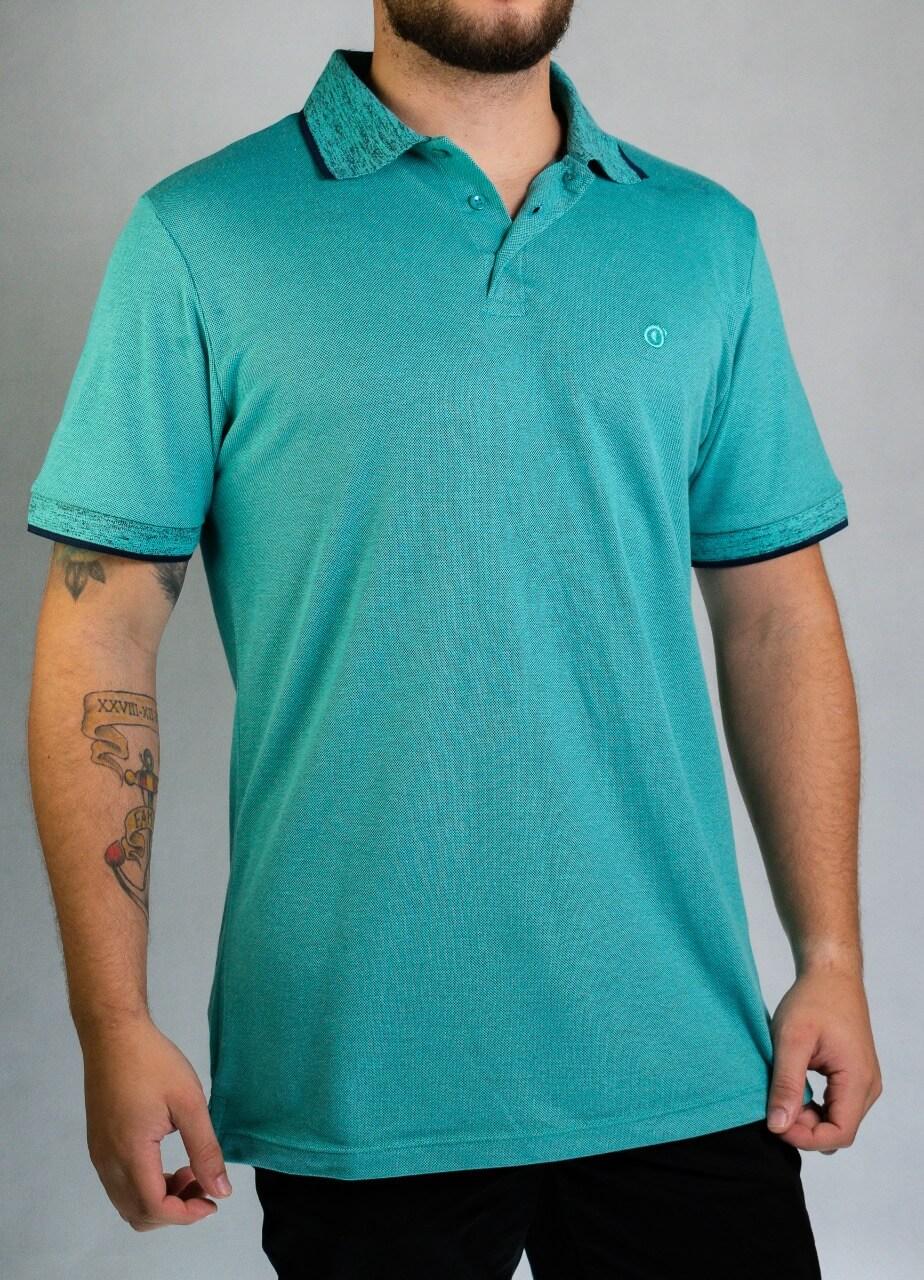 Camisa Polo Azul Claro O'born