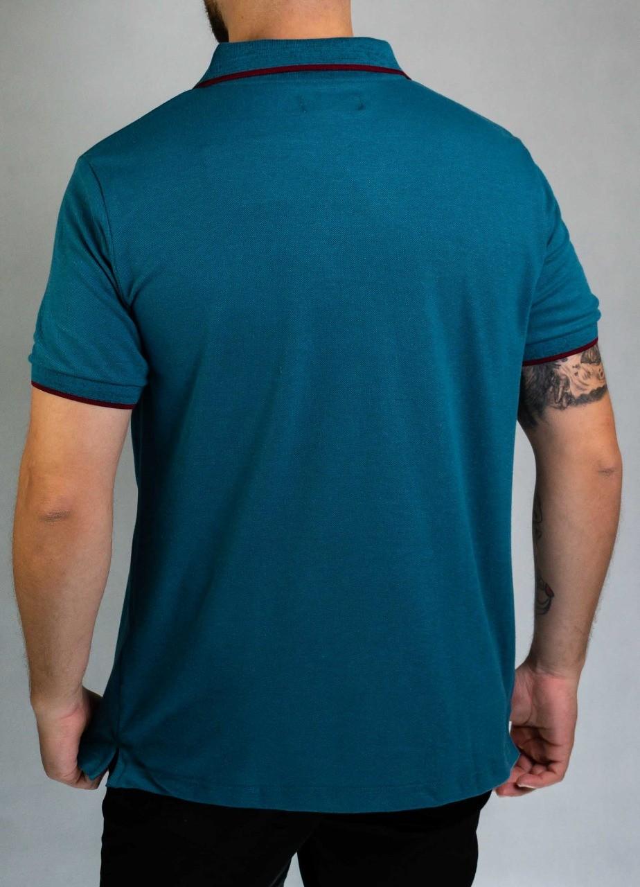 Camisa Polo Azul Petróleo O'Born