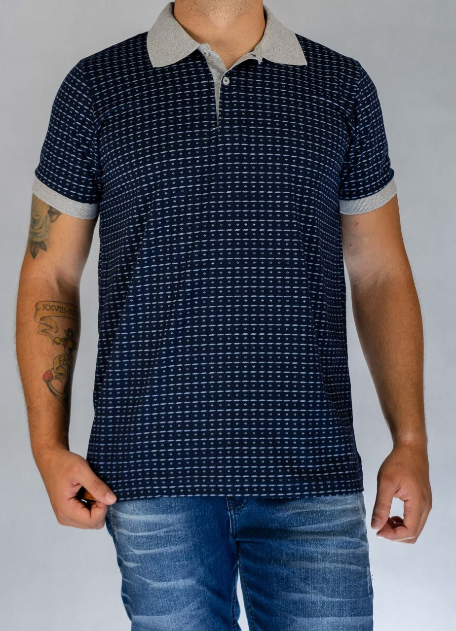 Camisa Polo Full Print