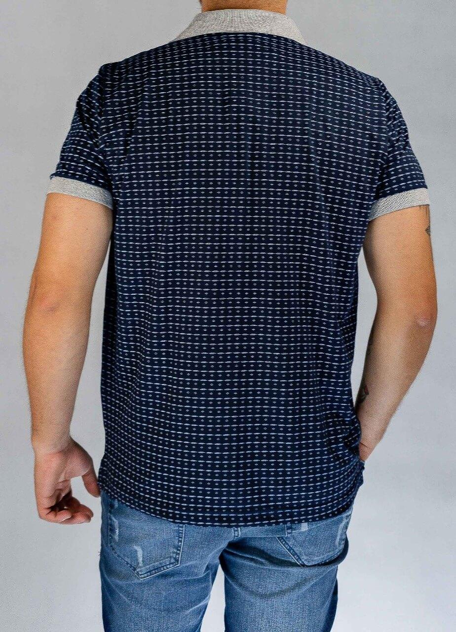 Camisa Polo Azul O'Born