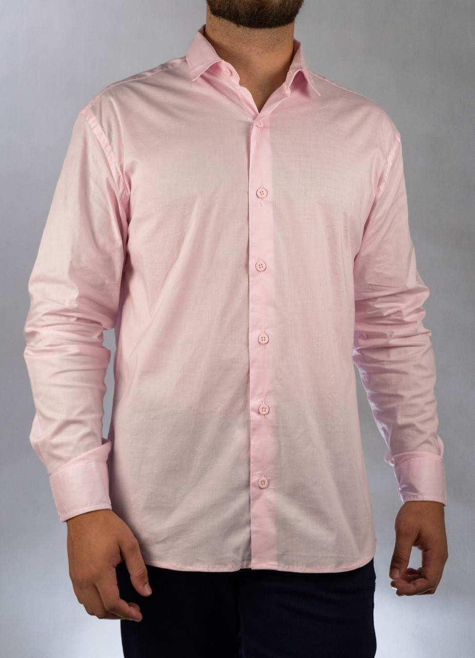 Camisa Social Rosa O'Born