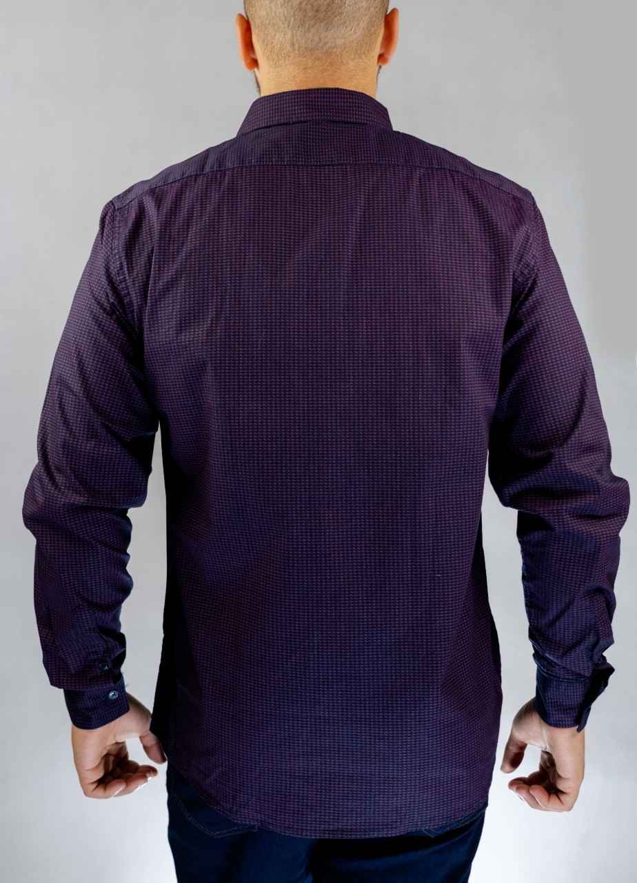 Camisa Social Violeta O'Born
