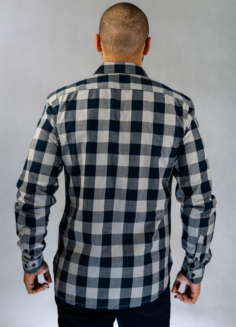 Camisa Social Xadrez O'Born