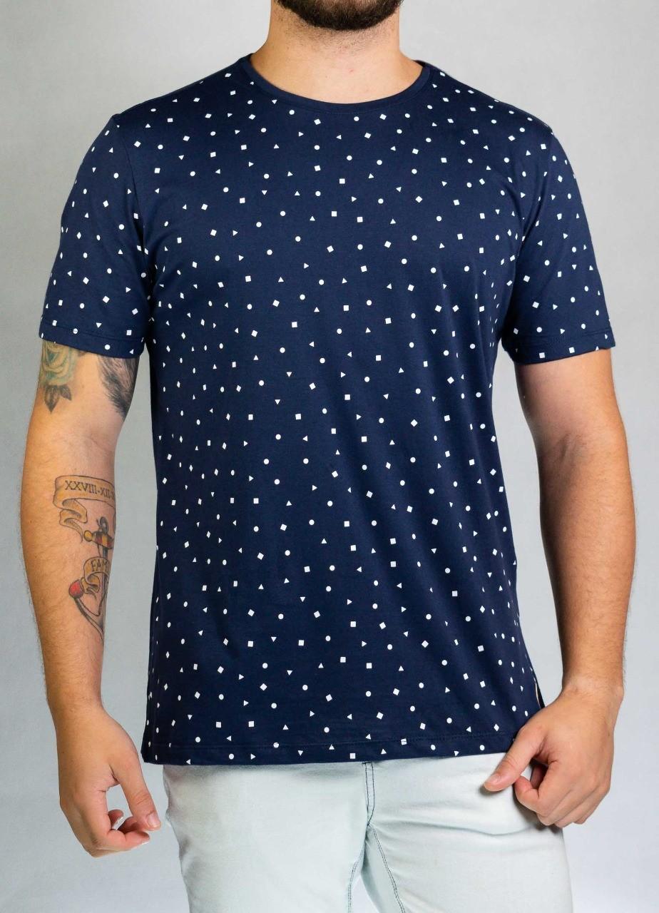 Camiseta Azul Figuras O'Born