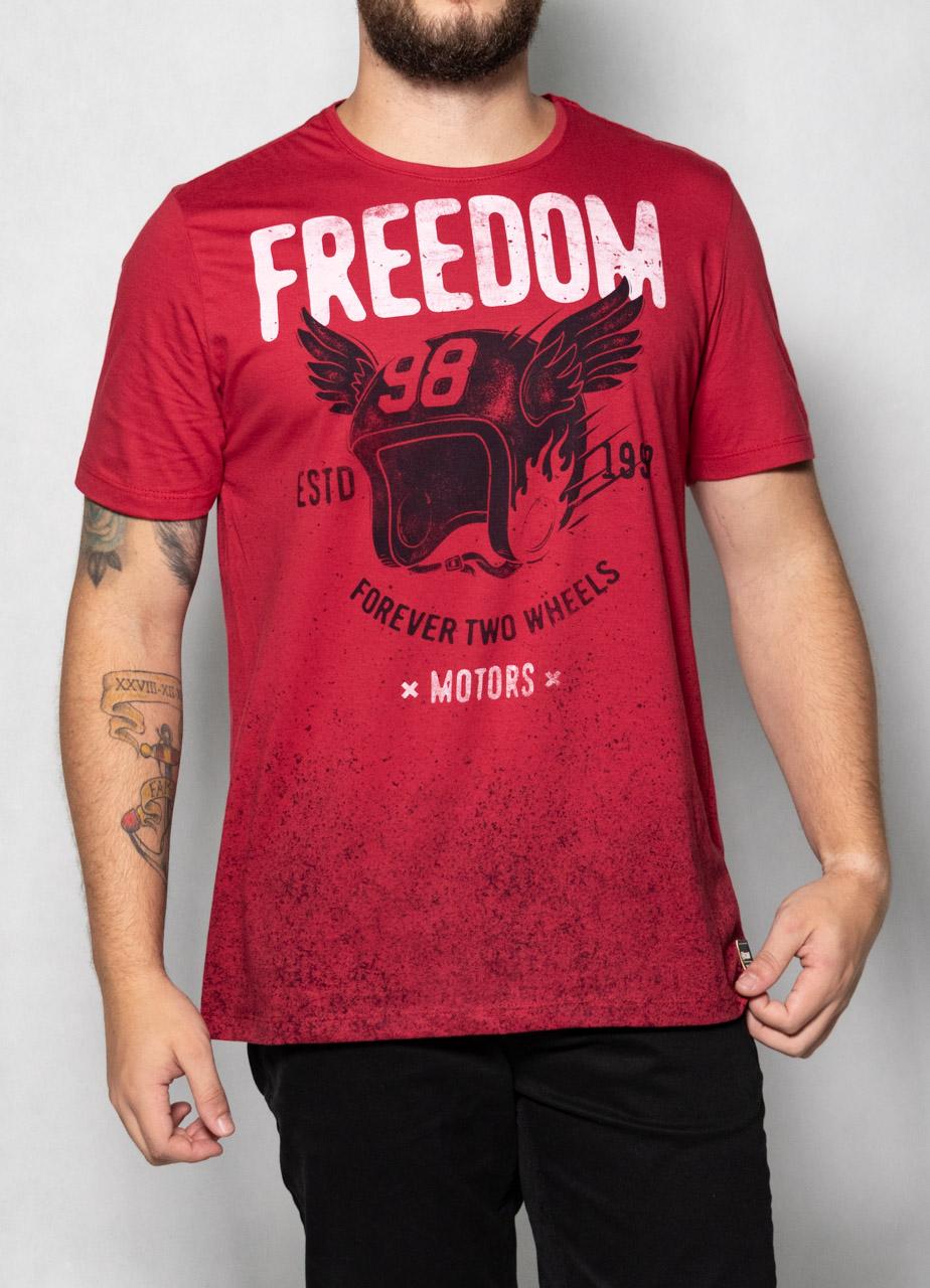 Camiseta Freedom Vermelha O'Born