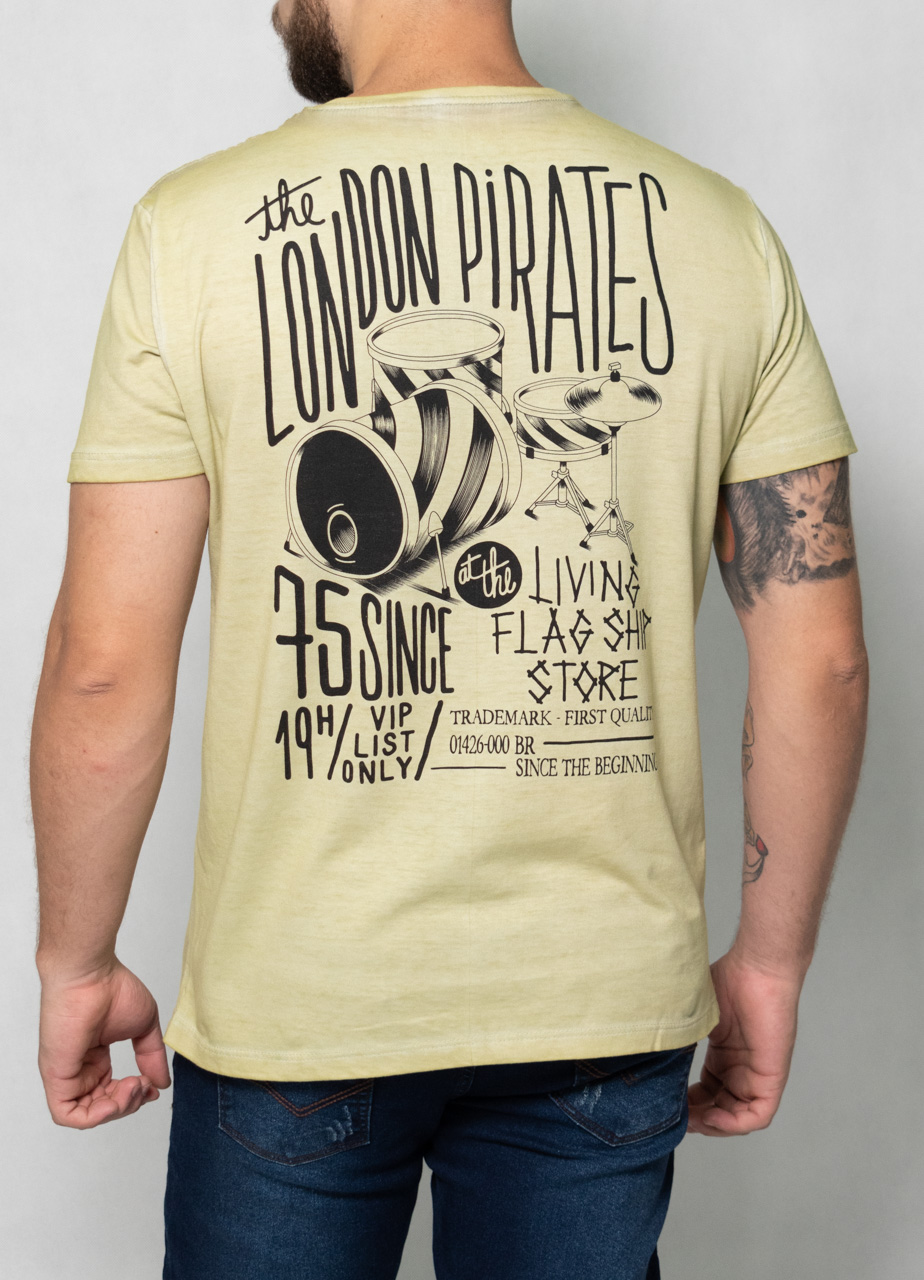 Camiseta London Pirates Verde O'Born