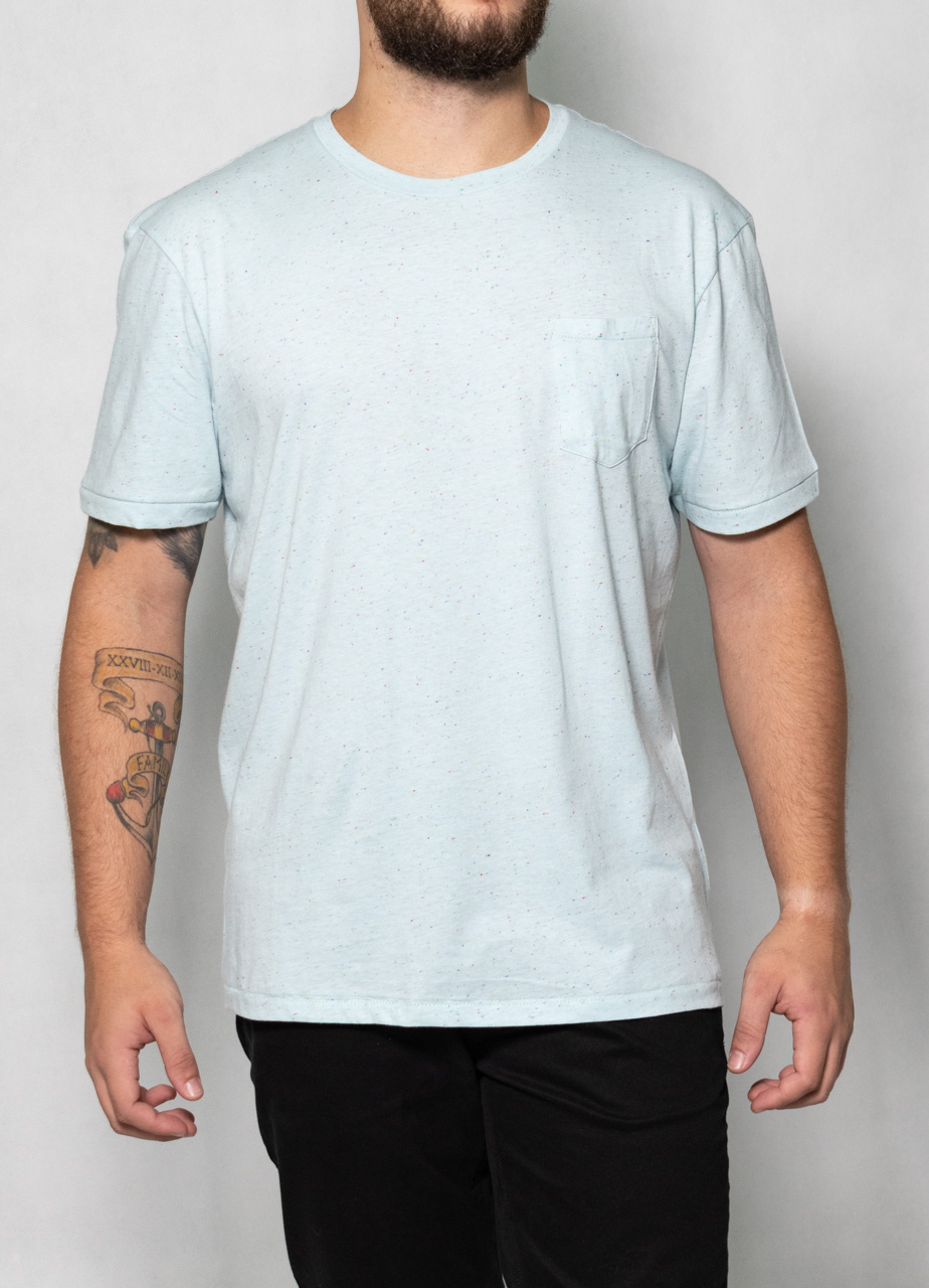 Camiseta Mescla Azul Claro O'Born