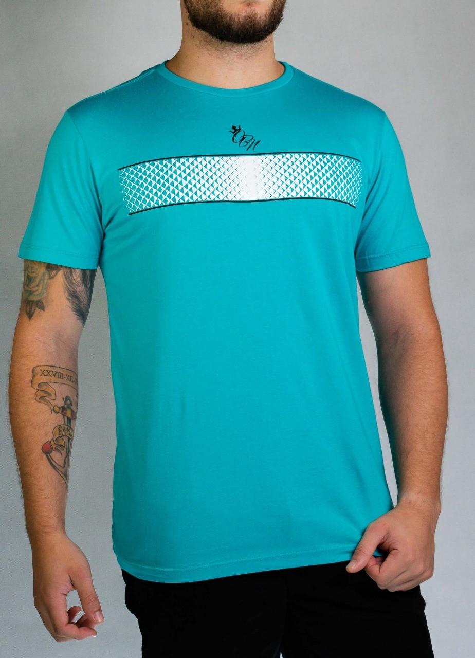 Camiseta Faixa Silk Azul O'Born