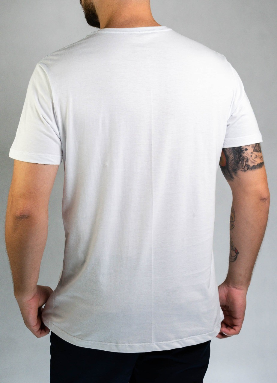 Camiseta Letter Branca O'Born