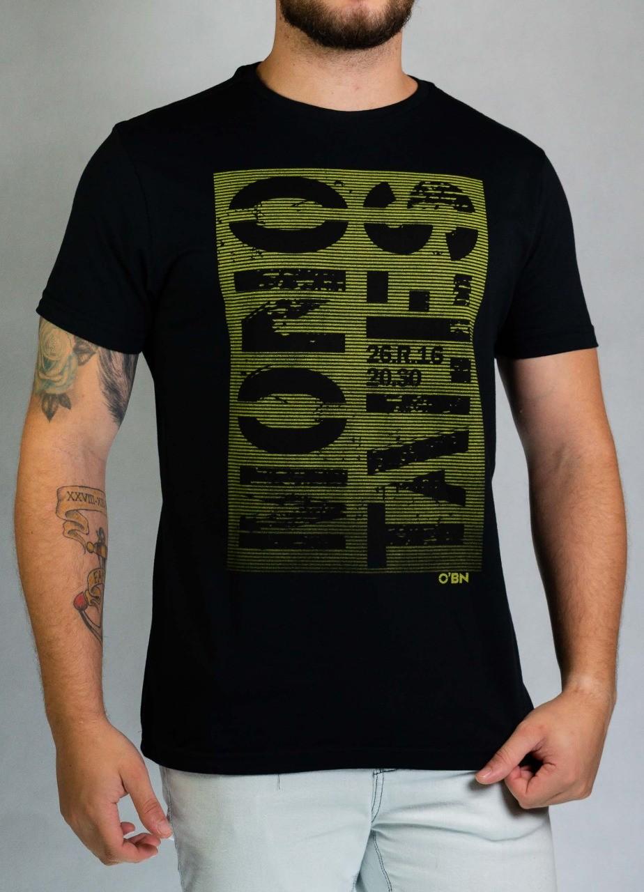 Camiseta Mono Tales Preta O'Born