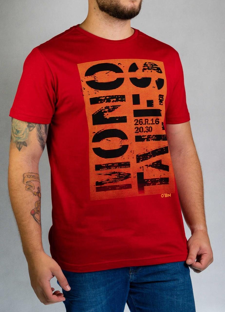 Camiseta Mono Tales Vermelha O'Born