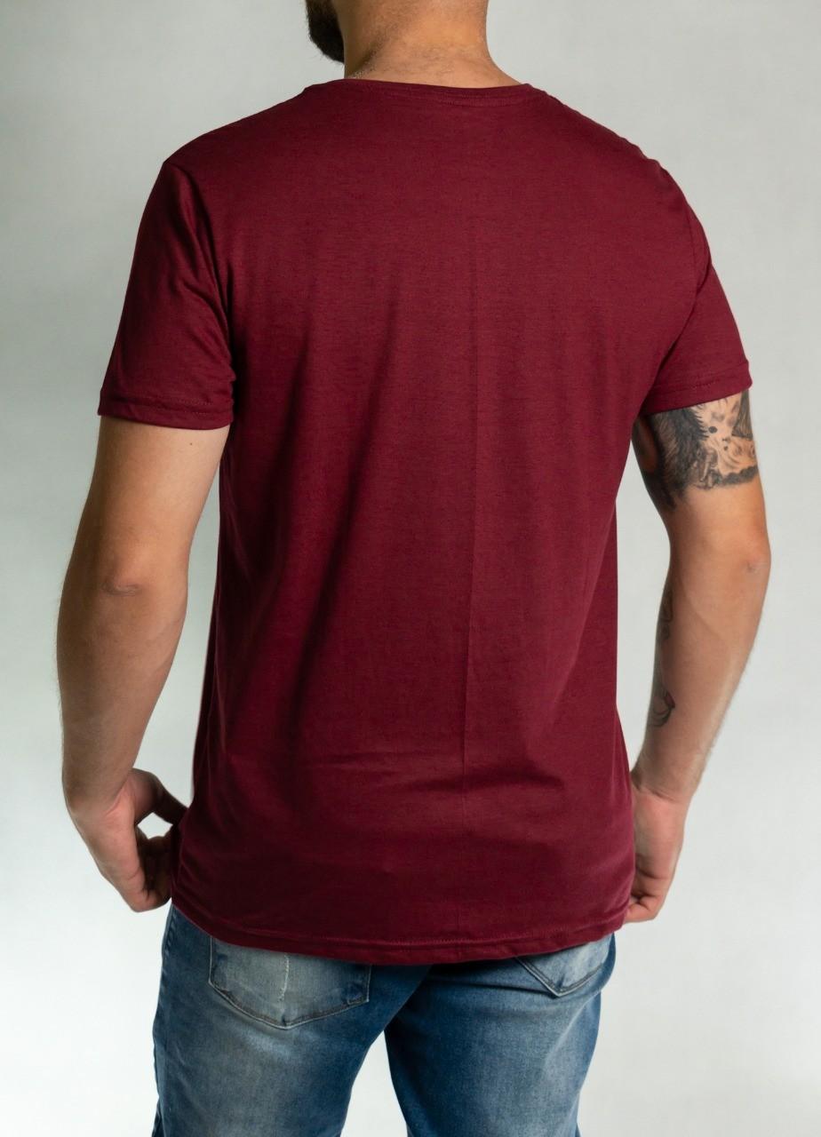 Camiseta Never Look Back Vermelha O'Born