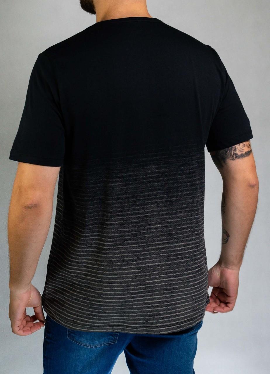 Camiseta Preta Strong Fighter OBorn