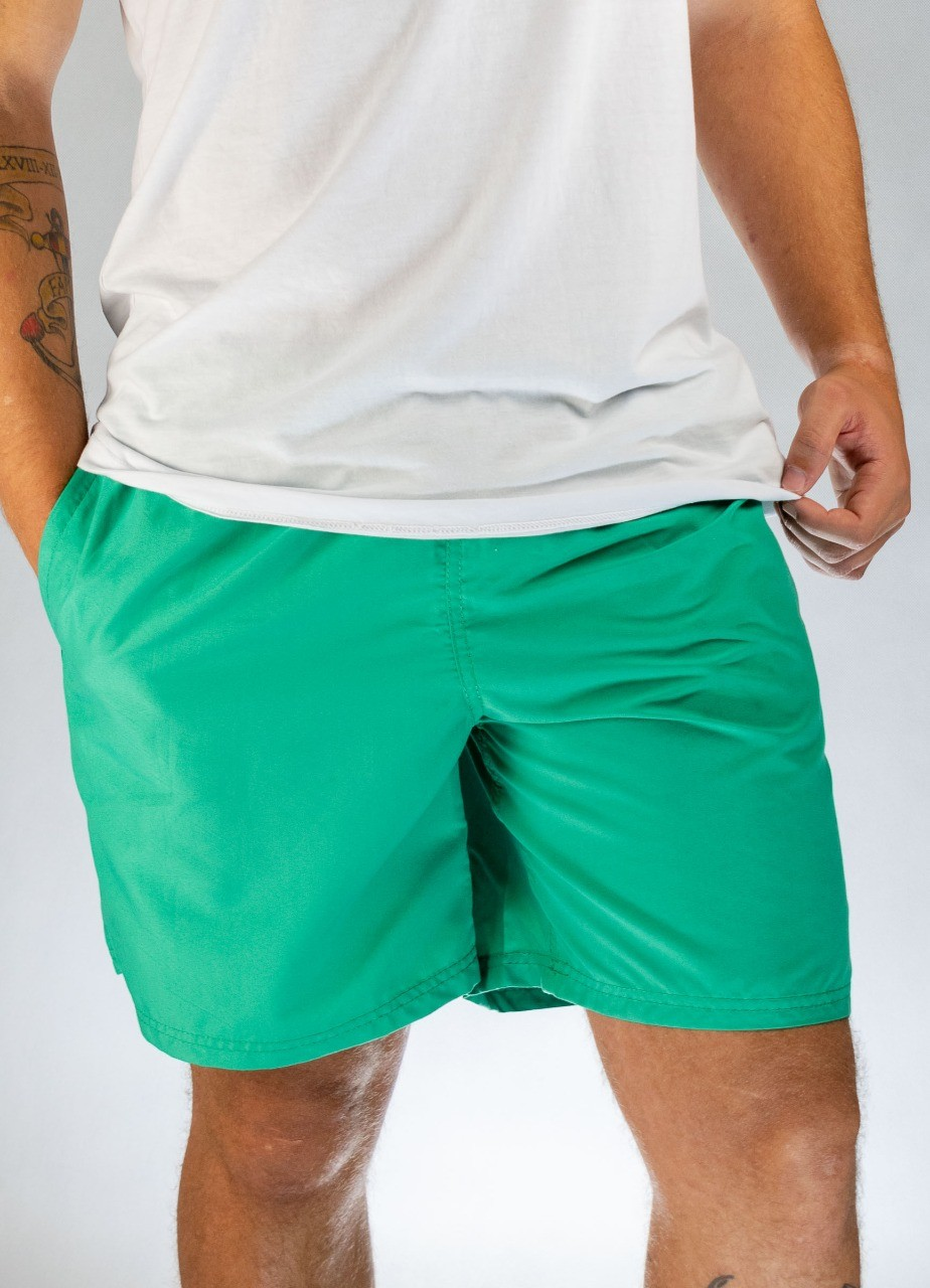 Short Básico Verde