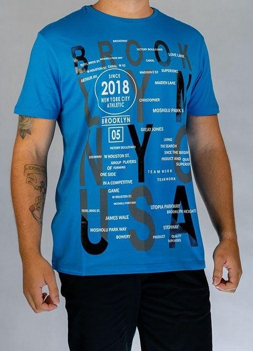 Camiseta Brooklyn Azul O'Born