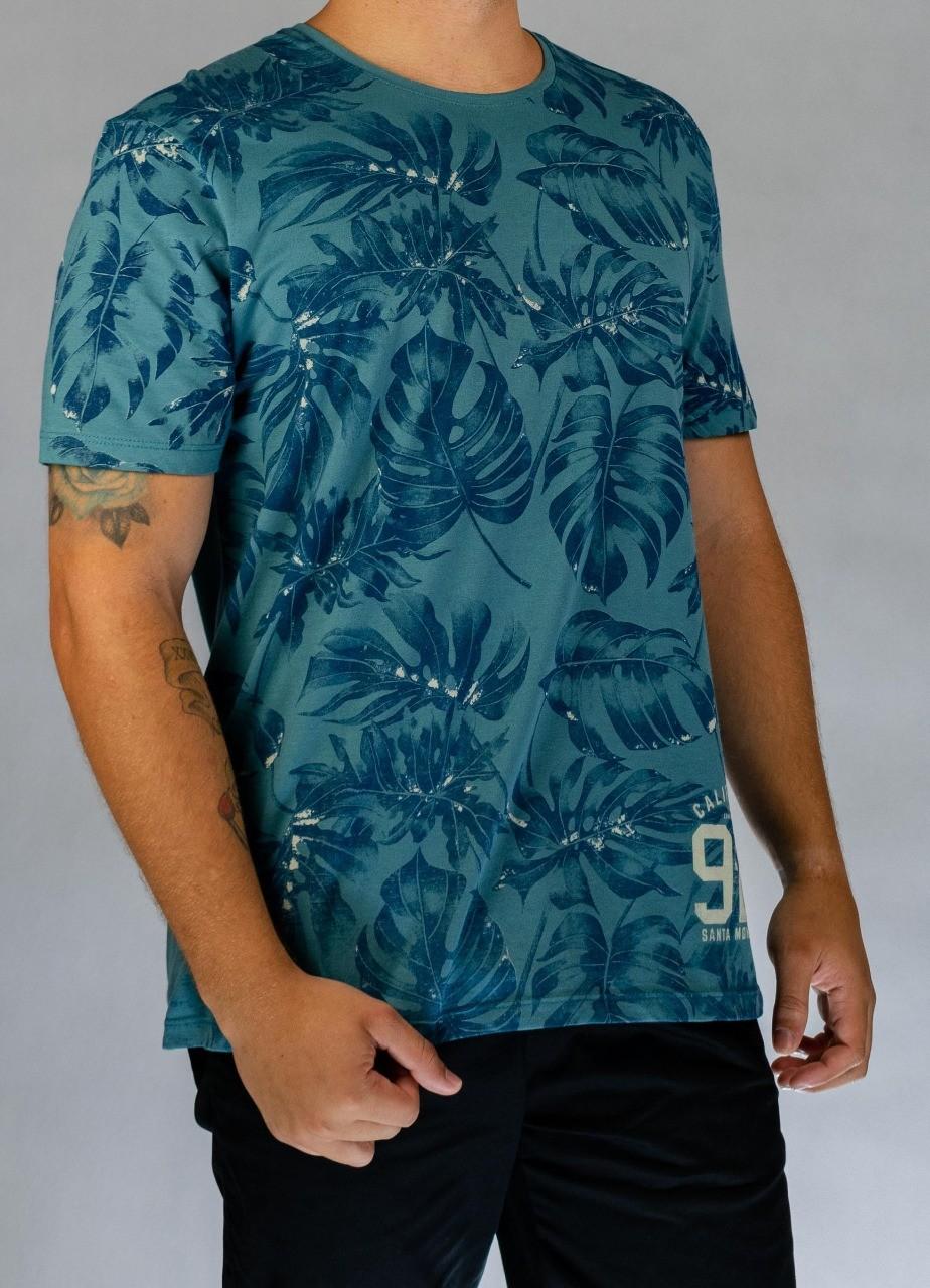 T-Shirt Especial Folhas Califórnia