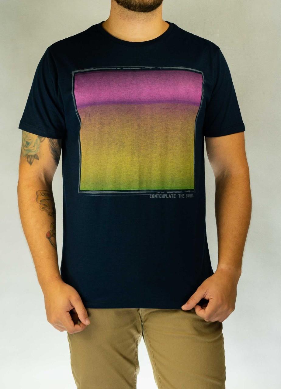 Camiseta Contemplate Azul O'Born