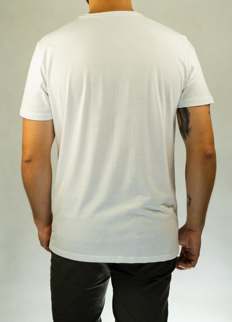 Camiseta Palavras Cruzadas Branca O'Born