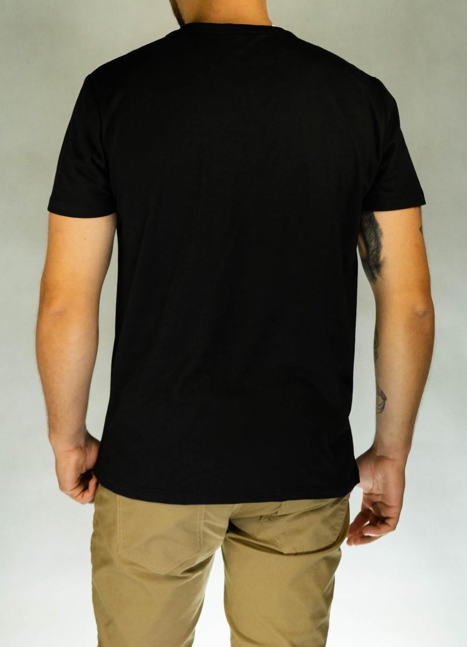 Camiseta Palavras Cruzadas Preta O'Born