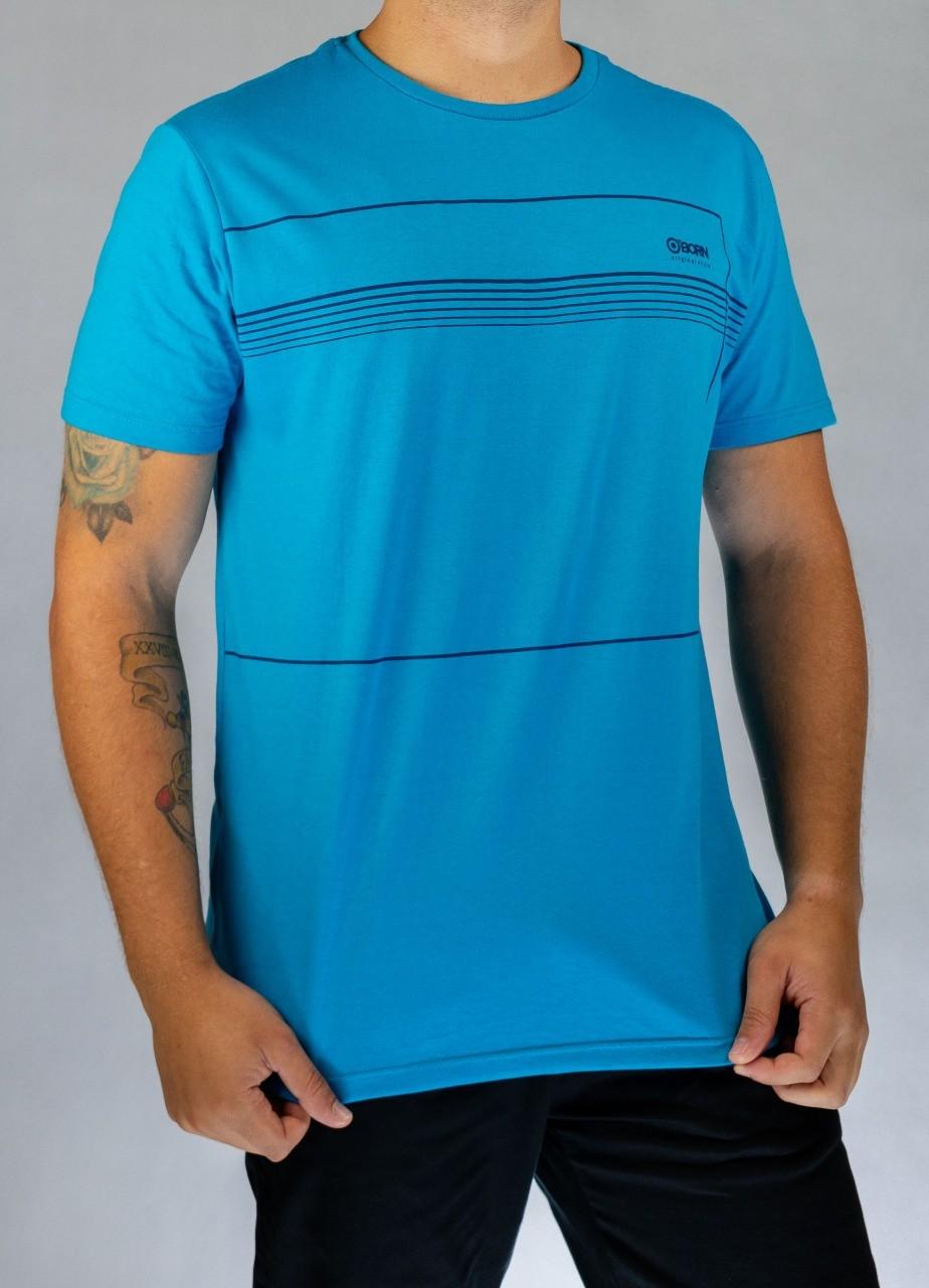 Camiseta O'Born Quadro Azul