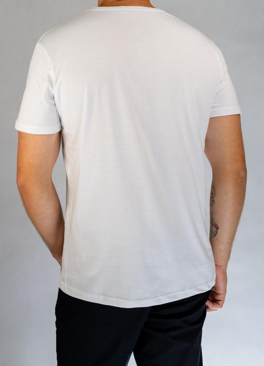 Camiseta O'Born Quadro Tinta Branca