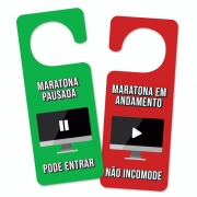 Aviso de Porta - Maratona
