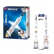 Blocos de Montar Astronautas Foguete 167 Peças - Multikids - BR1033