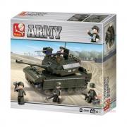 Blocos de Montar Land Forces Tanque 312 Peças - Multikids - BR908