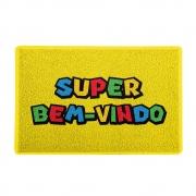 Capacho Super Bem Vindo Super Mario Bros
